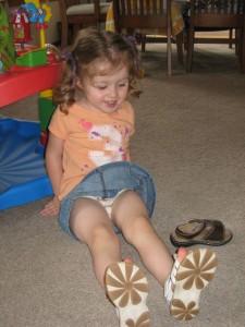 little girl potty accident Amazon S3