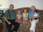 with great grandparents