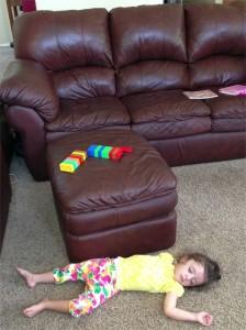 alex floor napping