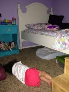 alex floor sleeping