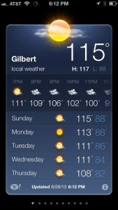 even hotter temps