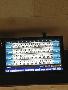 intern bowling