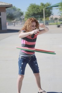 lindy hula hooping